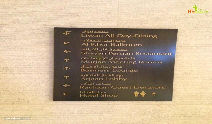 yönlendirme tabelası